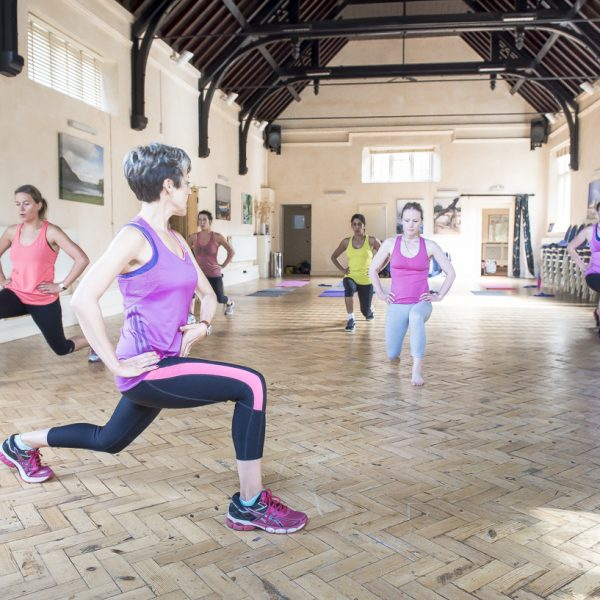HIIT IT WITH JOOLS WHOLE GROUP LUNGE